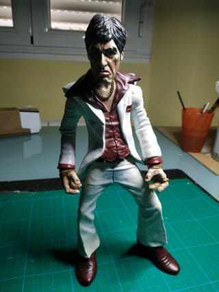Figuras Al Pacino, Tony Montana.