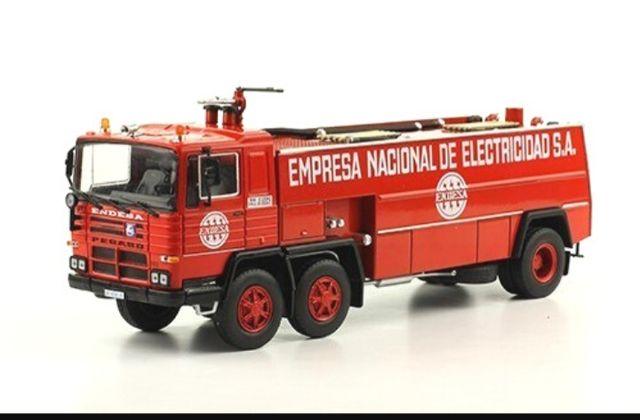 Pegaso 1183/70 empresa nacional de electricidad