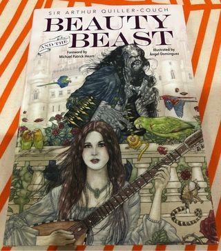 Libro La Bella y la Bestia Quiller Couch Ilustrado