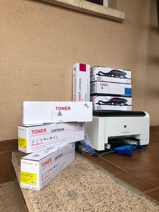 Impresora Laser Jet CP1025
