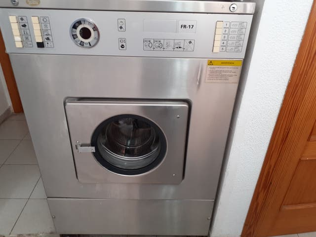 Lavadora industrial de 17 kg