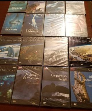 dvds planeta tierra y oceanos bbc