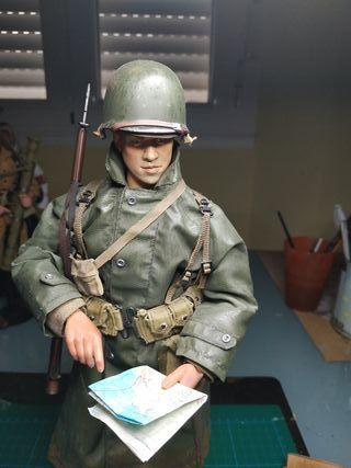 1/6 soldado americano ww2