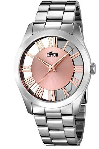 Lotus Watches Reloj Análogo clásico para Mujer
