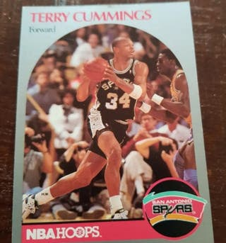 Trading Card TERRY CUMMINGS #266 NBA
