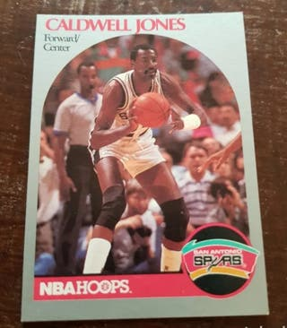 Trading card CALDWELL JONES #268 NBA