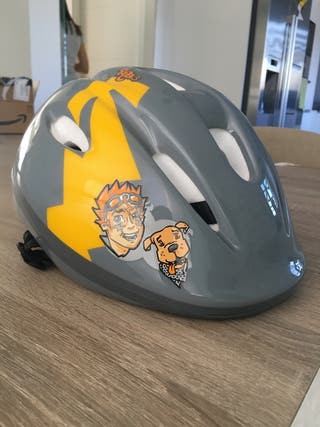 Casco Bicicleta Oxylane Kiddy Racing 3