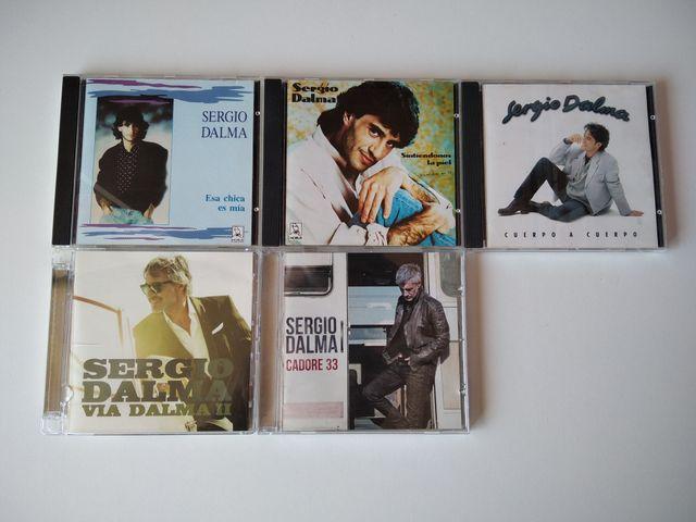 Pack de discos Sergio Dalma CD