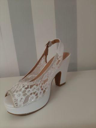 zapato de Novia comodo