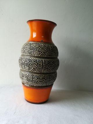 Jarrón de cerámica alemana vintage