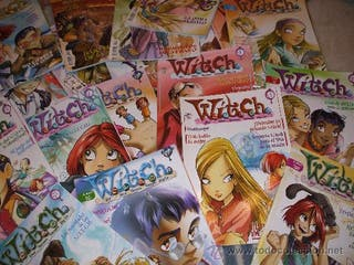 Revistas comics Witch