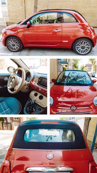 Fiat 500C Automático y Gasolina, 2016