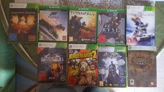 Juegos de Xbox one y xbox 360