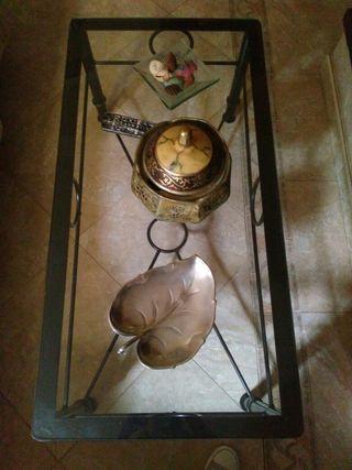 mesa de salon de forja