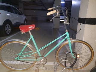 bicicleta de paseo de coleccionista