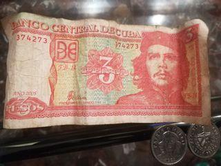 BILLETES Y MONEDAS DE PESOS CUBANOS