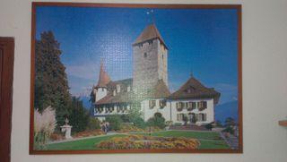 Puzzle casa-castillo 4000 piezas
