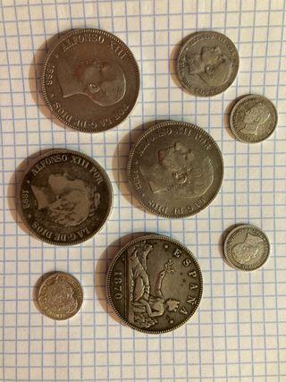 Monedas de Plata Coleccion Ofertas