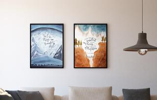 Láminas de El Señor de los Anillos