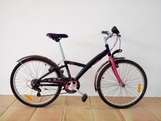 Bicicleta 24 pulgadas btwin