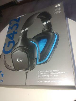 Logitech G432 Auriculares Gaming con Cable ¡NUEVOS
