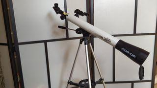 Telescopio con accesorios