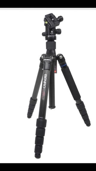 Trípode BENRO TRAVEL ANGELL II SERIE CARBONO