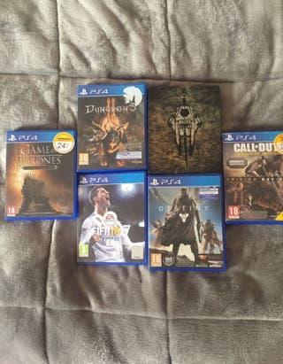 6 juegos PS4