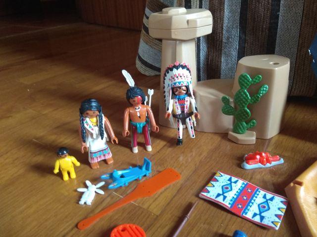 Campamento indio Playmobil 5247
