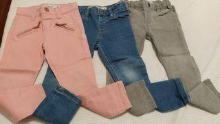 Lote pantalones T.3