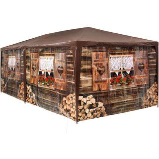 Carpa Pabellón 3x6m Cenador Tienda Estilo Refugio