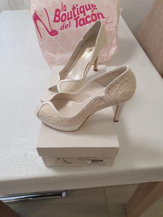 Zapato novia talla 37