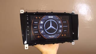 Radio gps mercedes