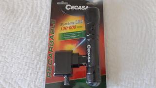 Linterna led recargable CEGASA