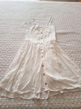 bonito vestido ibicenco de cya talla 36
