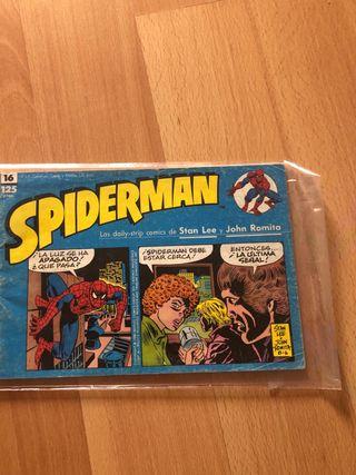 Spiderman tira periódico