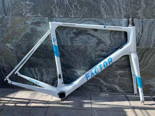 Cuadro bicicleta carbono Factor O2 T58