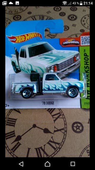 1978 Dodge Red Express Hot wheels 2015