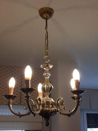 Lámpara de vela salón
