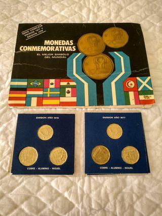 mundial de futbol Argentina 1978 monedas conmemor