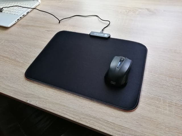 Tapis de Souris Gaming LED RGB