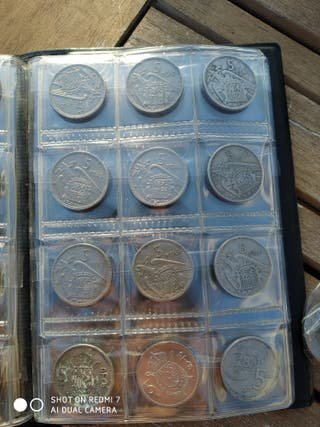 colección de monedas antiguas españolas