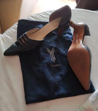 zapatos de piel Yanko