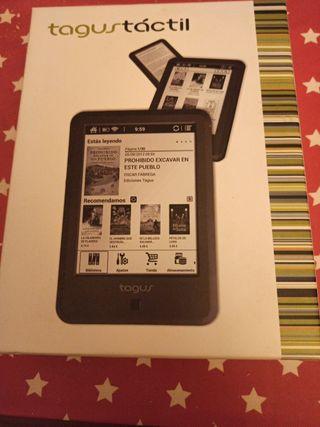 libro electrónico tagus tactil