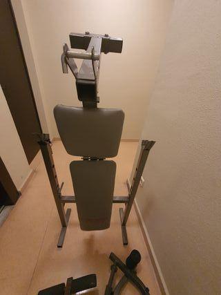 Banco de pesas musculaciòn