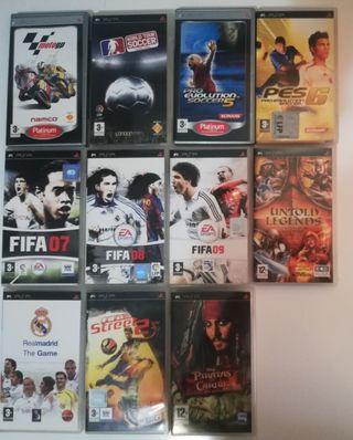 11 videojuegos PSP