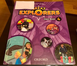 Libro 4 primaria Inglés. Class Book. Oxford