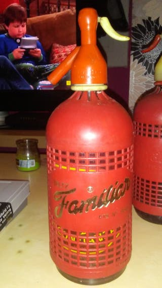botellas de sifon vintage