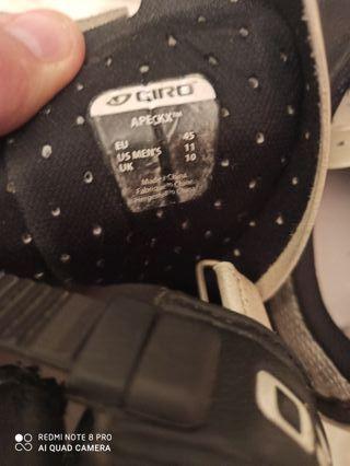 Zapatillas carretera marca Giro talla 45