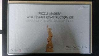 Puzzle madera 3d - Estatua de la Libertad